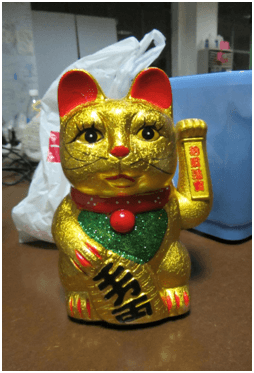 XinCheJian's Beckoning Cat