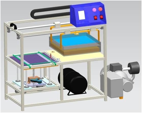 Vacuum Foaming Machine 3