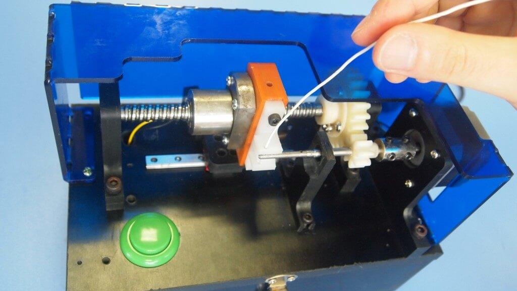 auto antenna-winding machine