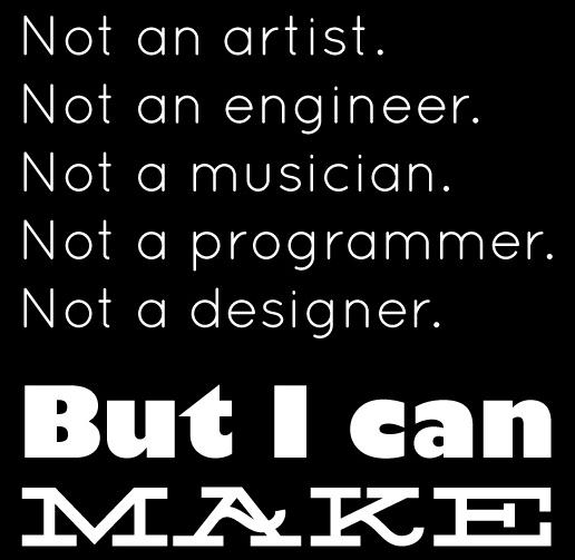 i can make