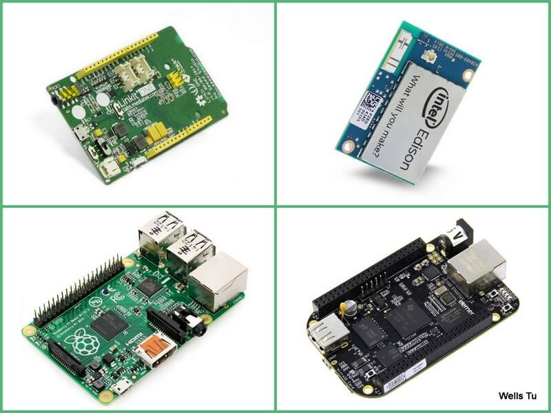 LinkIt ONE VS Edison VS Raspberry Pi VS Beaglebone Black