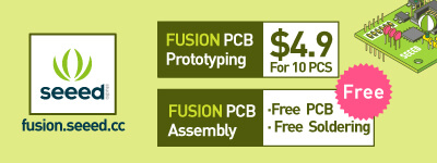 PCB prototyping Fusion Seeed