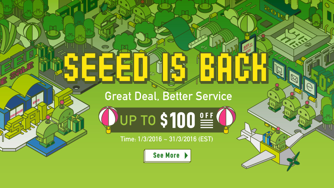 Seeed is back sale