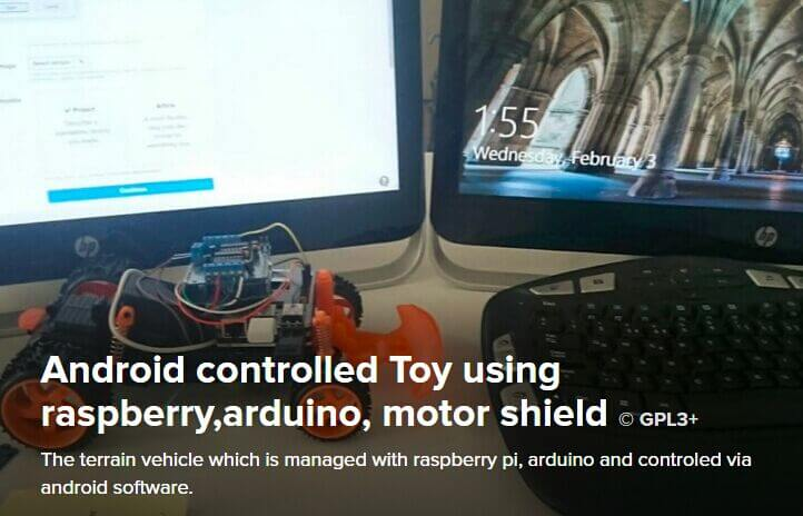 Android controller Toy
