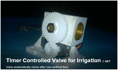 Timer Controlled Valve