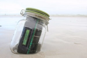 Text Message in a Bottle GSM Linkit ONE