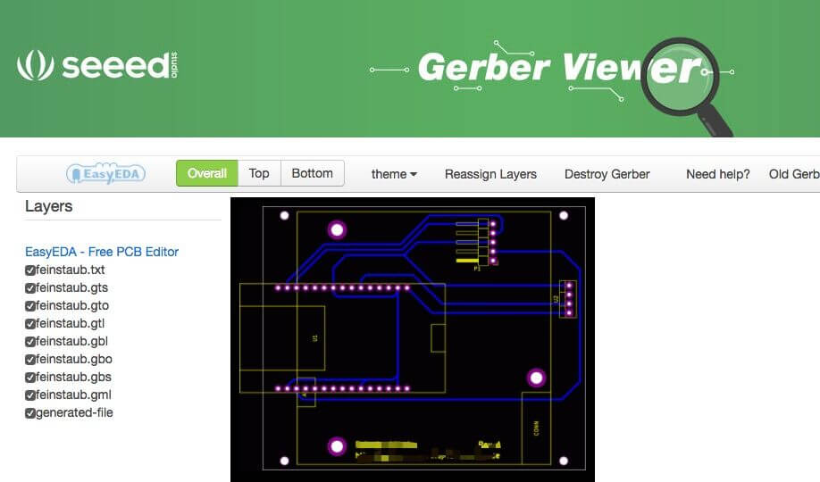 Try Gerber Viewer If You Worry About Your Circuit Design | Seeed ...