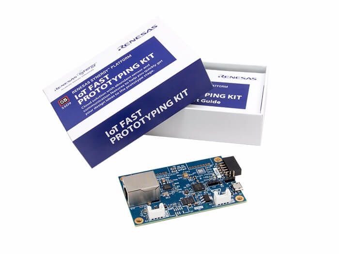 New Product - Renesas S5D9 IoT Fast Prototyping Kit