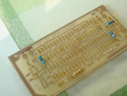 homemade PCB