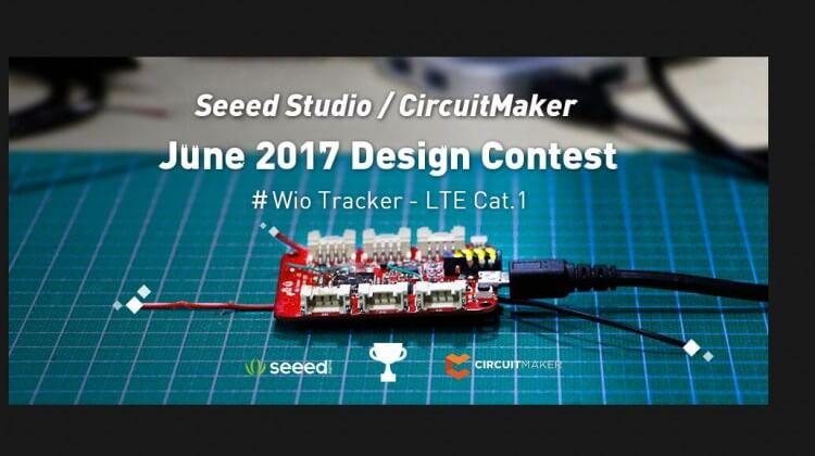 seeed studio circuitmaker design contest