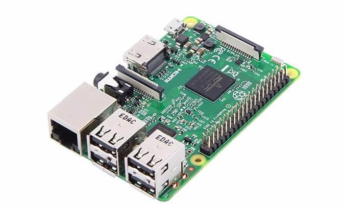 The RaspberryPi 3 Model B