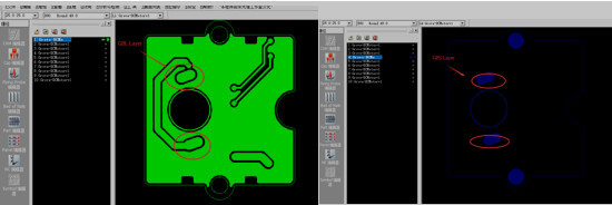 GBL, GBS layer for slot design