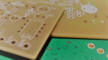 Single Sided PCBs with Exposed FR4 Substrate