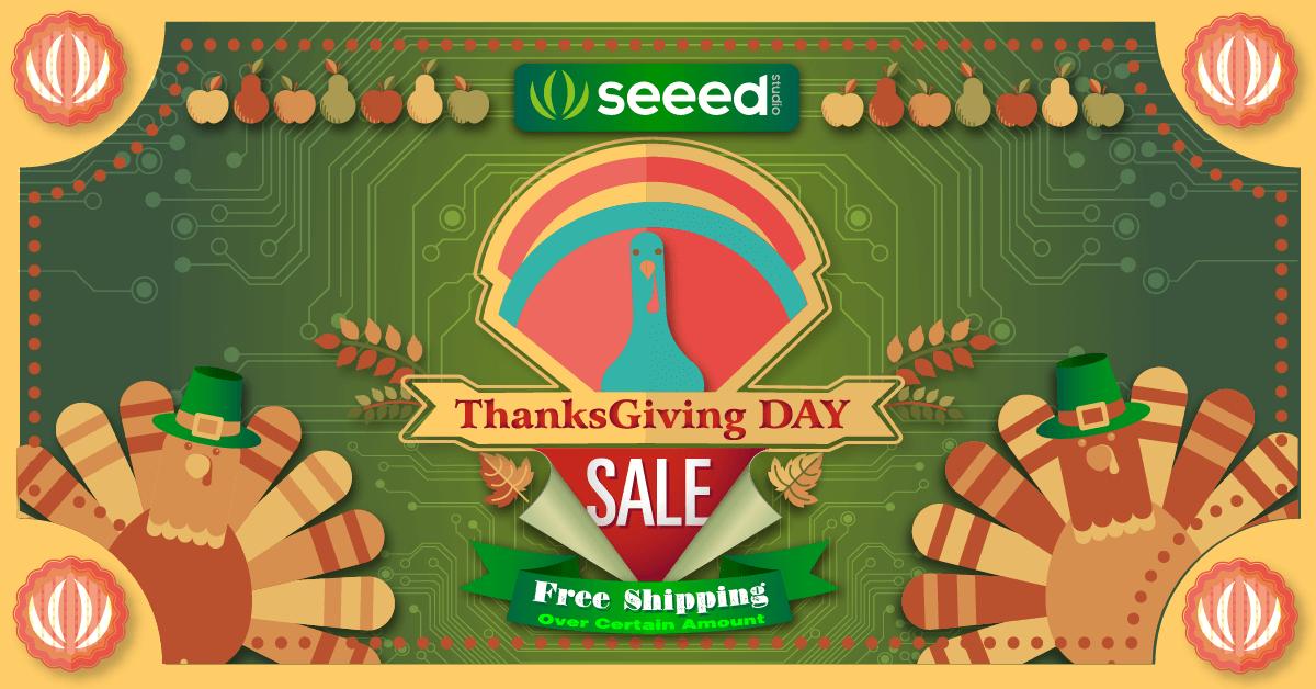 thanksgiving sale seeedstudio