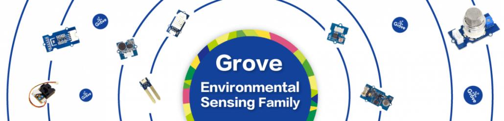 Grove environmental sensing family