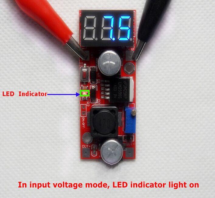Adjustable Dc U0026dc Power Converter With Led Segment Display