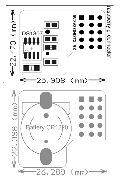 Raspberry Pi RTC Expansion Module