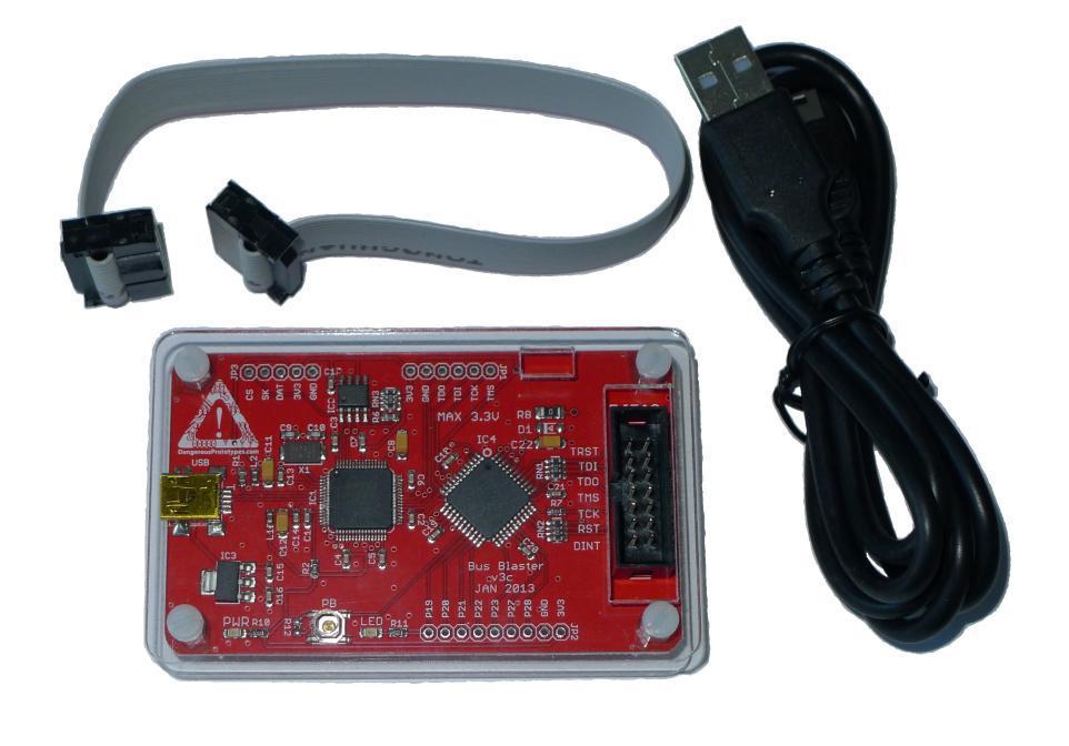 MakeHub tw含稅公司貨 Bus Blaster V3c for MIPS Kit