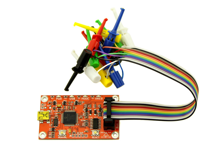 12 Clip And 12 Pin Connctor Bus Pirate v4 Probe Kit SeeedStudio