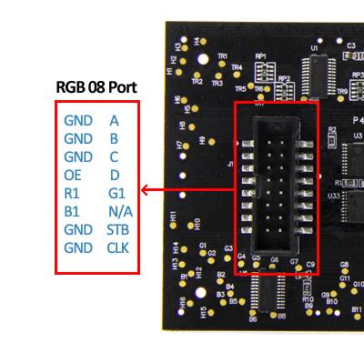Ultrathin 16x32 RGB LED Matrix Panel - Robotech Shop