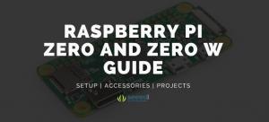 Raspberry Pi Zero and Zero W Guide - Set up, Accessories, Projects