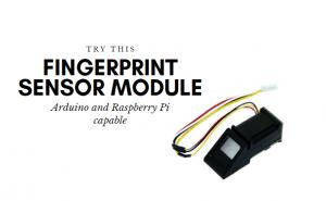 Try this fingerprint sensor for your arduino and raspberry pi