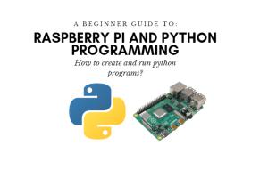 How to create an run raspberry pi python program