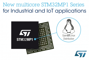 Choose New STM32MP1 Microprocessor for Industrial IoT Improvement