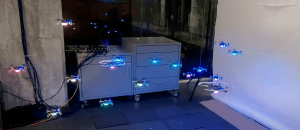 New data-driven method to control the movement of multiple Crazyflie by Caltech: Machine Learning Helps Robot Swarms Coordinate