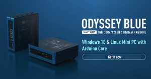 Explore new Windows 10 mini PC also support Linux OS and with Arduino Core