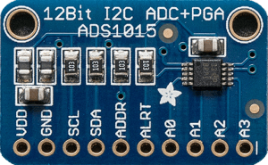 Analog to digital converter——ADS1015