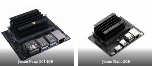 Compare NVIDIA Jetson Nano 2GB and Jetson Nano 4GB