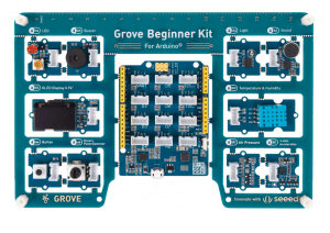 Resource roundup for Grove Beginner Kit for Arduino: Tutorials, Reviews, and Projects from the community.