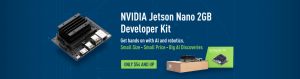 NVIDIA Jetson Nano 2GB, from $54 only, was released at GTC 2020, enables NVIDIA JetPack for developers at a lower price.