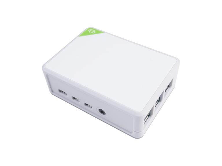 Desktop Raspberry Pi 4 Case with Heat Sinks Kit