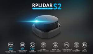 SLAMTEC RPLiDAR S2: New generation TOF radar with ultra-high standard sampling and precision for industrial scenarios