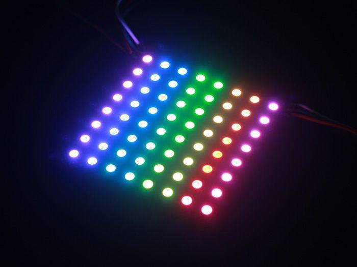 8*8 RGB LED Matrix w& WS2812B - DC 5V