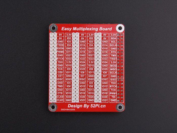 Raspberry PiGPIO Triple Expand Board