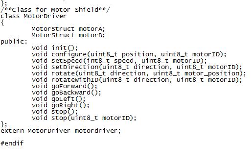 Seeed 2.0 Motor Shield Individual Control