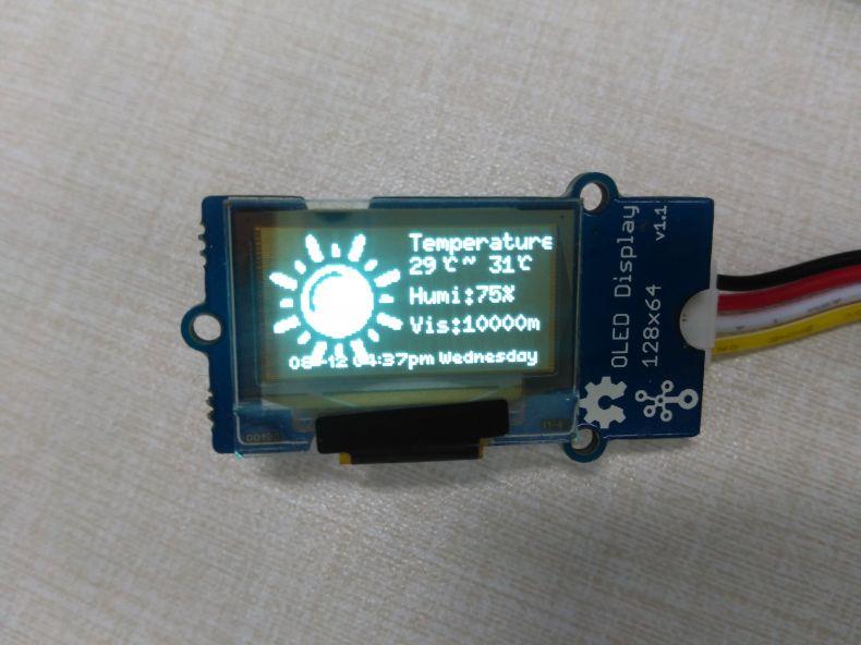 Grove - OLED Display 0 96