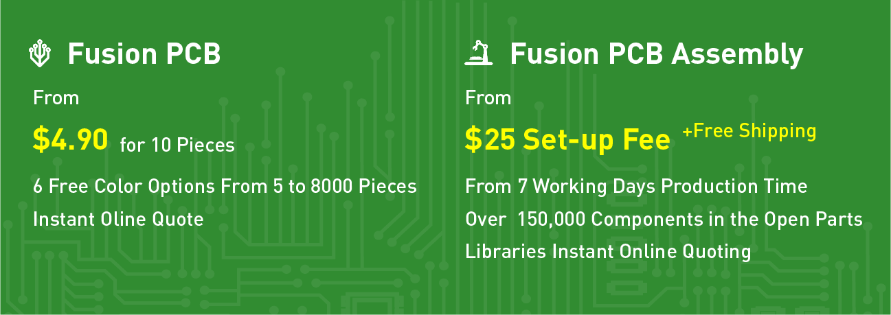 Fusion PCB Manufacturing & Prototype PCB Assembly - Seeed Studio