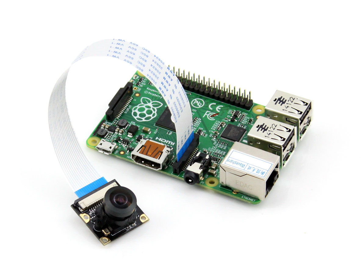 Raspberry Pi Wide Angle Camera Module - Hats & Plates - Seeed Studio