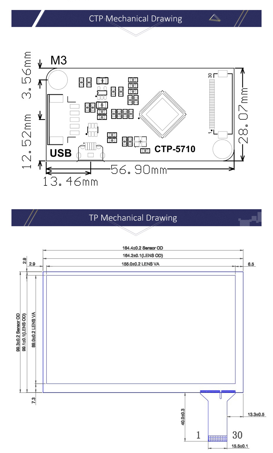 7 Inch 1024x600 Capacitive Touch Screen Diy Kit Display For Micro Usb Pin Wiring Schematic Technical Details